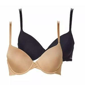 Calvin Klein 2-pack Lightly Lined t-shirt Bra